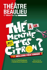 Affiche internet Thé à la menthe - Théâtre Beaulieu