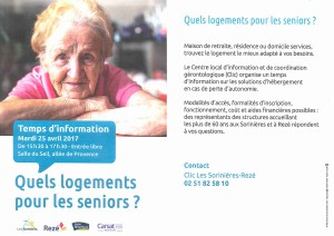 Forum logement seniors