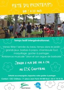 CSC Château Fête du Printemps