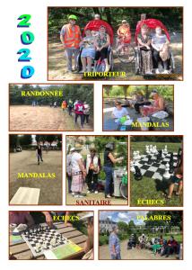 Activités estivales Rezé Seniors 2020